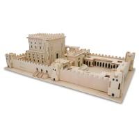 Puzzle 3 D - Construction manuelle du Beth hamikdach