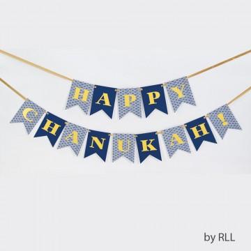 "Banniere "" Happy Hanouka """