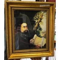 Cadre Rabbi Shimon Bar Yohai  3 - Taille 32 * 27